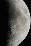 Moon at Prime Focus in 12-inch LX 200 telescope