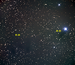 Barnard 24 and 23 labeled image