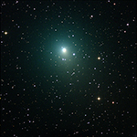 Comet Wirtanen on the evening of Friday December 28, 2018