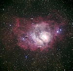 M8 (Lagoon Nebula) Barnard 88, 89, and 296
