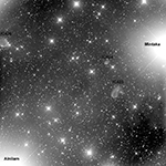 IC423 and IC424, labeled image